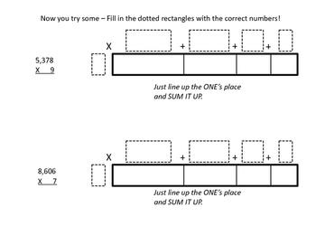Common Core Mathematics Expanding on Multiplication using Area Models