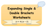 Expanding single and double brackets