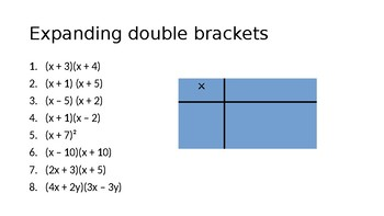 Expanding single, double and triple brackets