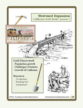 Expansion Lesson 7 - California Gold Rush