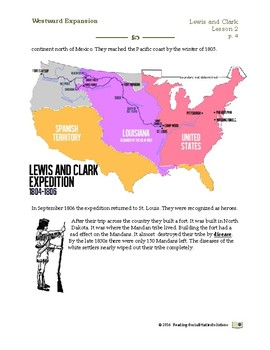 Expansion Lesson 1 - Louisiana Purchase