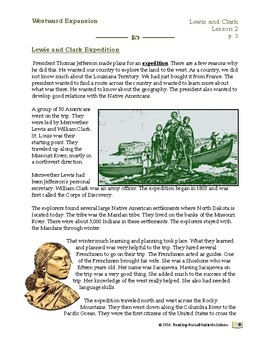 Lewis and Clark - Expansion Lesson 2