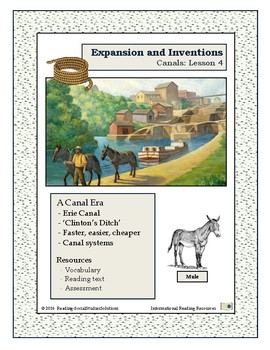 Inventions Lesson 4 - Canals