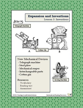 Inventions Lesson 3 - Inventions