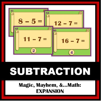 Expansion Set: Magic, Mayhem, and...Math Subtraction Facts
