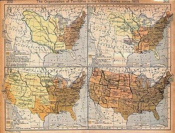 Expansion of United States Territory from 1803