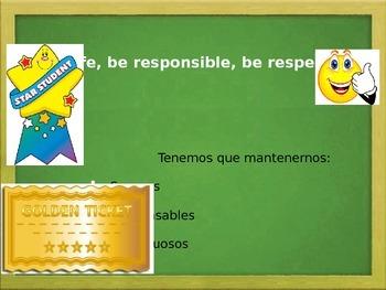 Expecativas en la Escuela (Spanish) PPT- School Expactations PBIS