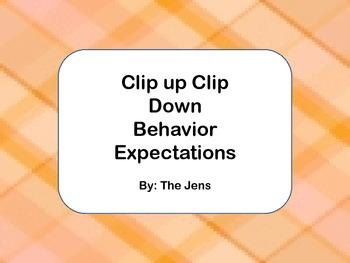 Expectation Based Behavior Management -Plaid