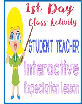 Expectation Interactive Activity First Day of School/Semester
