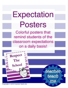 Expectation Posters
