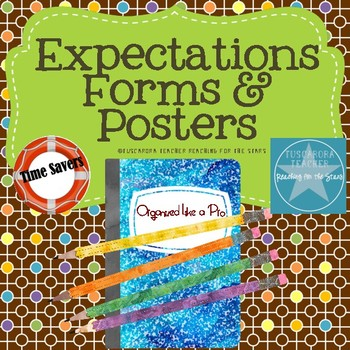 Expectations Forms & Posters