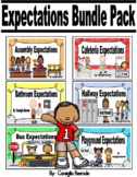 Expectations/Rules/Reminders (Visuals to Support PBIS) Bundle Pack
