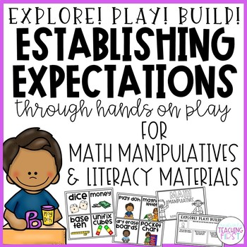 Expectations for Manipulatives
