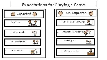 Expectations for Playing a Game