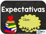 Expectativas en la clase de español / Expectations Spanish