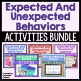 Expected And Unexpected Behaviors Activities Bundle (Save 20%!)