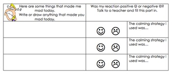Expected Behavior Strategies and Behavior Chart