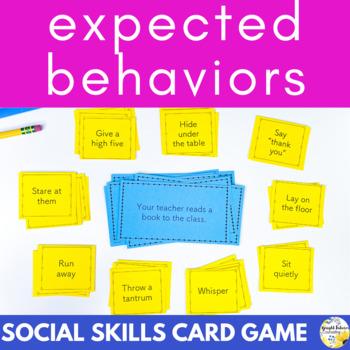 Expected Behaviors - Social Skills Card Game