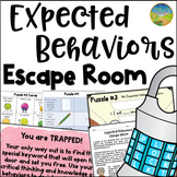 Expected Behaviors Escape Room