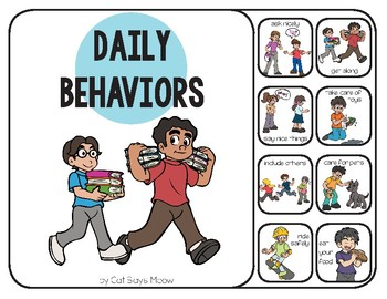 Expected Behaviors Interactive Book: Good v. Bad Behavior in Pictures