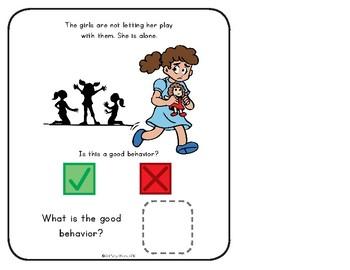 Behaviors Interactive Book: Good v. Bad Behavior in Pictures