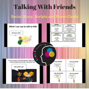 Expected Behaviors; Talking with Friends; Social Skills