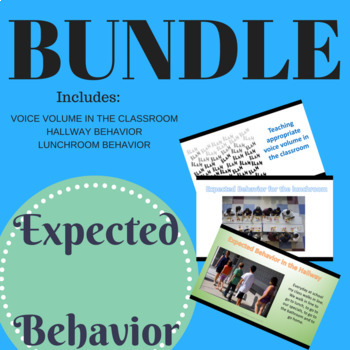 Expected Behaviors in School BUNDLE; Social Skills BUNDLE