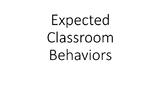 Expected Classroom Behaviors Social Story