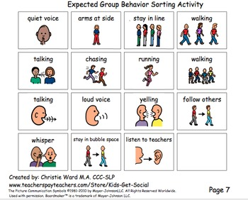 Expected Group Behaviors- Expansion Pack
