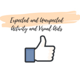 Expected-Unexpected Activity and Visuals