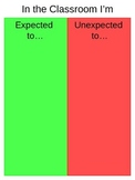 Expected & Unexpected Behavior - Classroom Posters