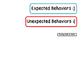 Expected & Unexpected Behavior File Folder- Feeling Sick a