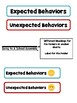 Expected & Unexpected Behavior File Folder- Going to an Assembly
