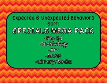 Expected & Unexpected Behavior File Folder-Specials MEGA Pack!