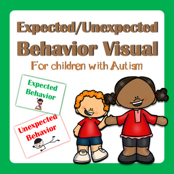 Expected/Unexpected Behavior Visuals Autism