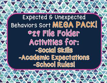 Expected & Unexpected Behaviors BUNDLE!