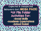 Expected & Unexpected Behaviors BUNDLE!