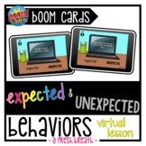 Expected Unexpected Behaviors Virtual Digital Task Cards  
