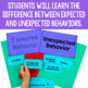 Expected V. Unexpected Behavior Activities
