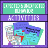 Expected And Unexpected Behavior Activities For Social Skills Lessons
