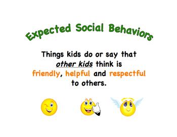 Expected Vs. Unexpected Behaviors Kindergarten/Special Education