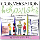 CONVERSATION BEHAVIORS || Differentiated Activities For K-5th