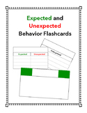 Expected and Unexpected Behavior Notecards