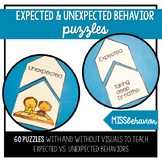 Expected and Unexpected Behavior Puzzles | Social Emotional Tasks