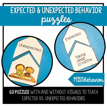 Expected and Unexpected Behavior Puzzles   Social Emotional Tasks