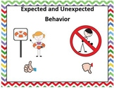 Expected and Unexpected Behavior Social Story with Practice