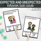 Expected and Unexpected Behavior | Task Cards