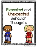 Expected and Unexpected Behavior Thoughts Visuals and MiniLessons