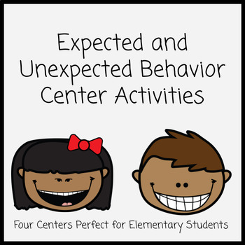 Expected and Unexpected Behaviors Center Activities