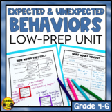 Expected and Unexpected Behaviors Unit